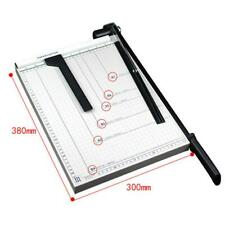 "Paper Cutter 15"" B4 Metal Base Trimmers Scrapbooking Guillotine Blade Office Art"