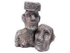 Rock with Faces Reptile Terrarium Vivarium Ornament Decoration