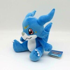 """Digimon Veemon Soft Plush toy 7.5"""" Authentic SANEI BOUEKI"""