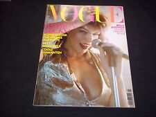 2007 MAY DUTCH VOGUE MAGAZINE - MILLA JOVOVICH - FASHION FRONT COVER - J 1720