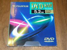 FUJIFILM DVD-RAM 5,2 GB Rewritable Double Sided Type I Data Cartridge