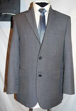 AUSTIN REED -ENGLAND CLASSIC GREY BIRDSEYE WORK SUIT + 2 TROUSERS UK 38's