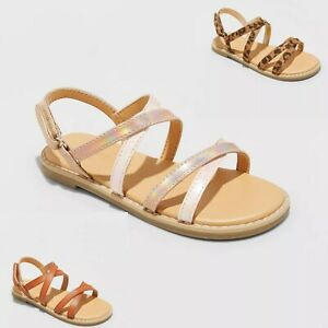 Toddler Girls' Mabyn Ankle Strap Sandals - Cat & Jack™