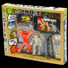 Stikbot Studio - Children's Stickbots Stop Motion Animation App Movie Making Toy