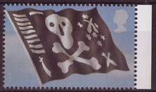 GREAT BRITAIN 2009 ROYAL NAVY BOOKLET STAMP , JOLLY ROGER  UNMOUNTED MINT