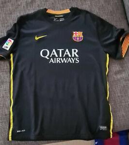 FC Barcelona Trikot schwarz XL + Trainingsjacke XL blau