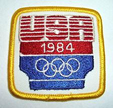 "USA 1984 Olympics Patch, 2 1/2"" x 2 1/2"""