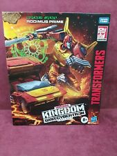 Rodimus Prime Transformers War for Cybertron Kingdom Commander Class NEW
