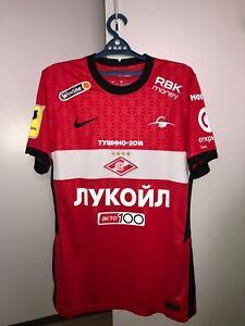 Match worn shirt Spartak Moscow Russia jersey size L, season 2020/2021