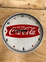 15 Inch Coca Cola Hanging Wall Clock