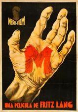 "M Fritz Lang 1931 Poster 16""x24"""