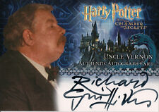 Harry Potter & The Chamber of Secrets, Richard Griffiths Auto Card