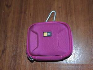 """Genuine Case Logic Camera Case Travel Bag - MEQB-1 - PINK - 4.5"""" x 3.5"""" x 1.25""""."""