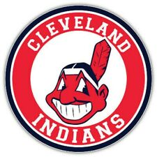 """Rare New Cleveland Indians Round Logo Led 3D Neon Sign Light Lamp 16""""x16"""""""