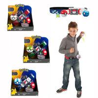 Pokemon Clip N GO Carry Poke Ball Toys Cross Belt Game Kids Gift Boys/Girls Toy