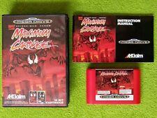 "Maximum Carnage ""Spider-Man & Venom"" - SEGA Mega Drive PAL EUR"