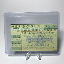 Tori Amos Hard Rock Hotel Concert Ticket Stub Las Vegas Vintage September 1998
