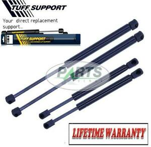 4 PIECES 2 WINDOW GLASS & 2 LIFTGATE TAILGATE LIFT SUPPORTS SHOCKS STRUTS ARMS