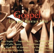 Pops Staples/Fontella Bass + - Gospel Live From Mountain Stage - BPM-309CD New