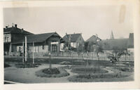 1945 WWII US Army GI's Mommenheim France Photo Train station