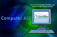 Libre Office 5 Suite - Office Productivity Suite - Win & Mac - DVD - Pick Versio