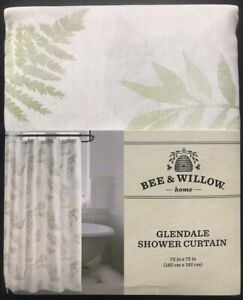 Bee & Willow Fabric Shower Curtain - Home Glendale Floral 72x72
