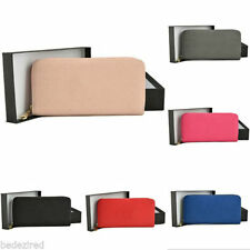 Faux Leather Clutch Women's Purses & Wallets with Organizer