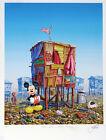 Jeff Gillette - Mickey's Cartoon Shack - Hand Embellished Print 3/5 - WALL-E CG.