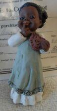 "1986 All Gods Children Miss Martha Holcombe Figurine ""Angel"" Valentines Heart"