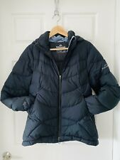 Kathmandu Down Jacket With Hood Sz 10 Black