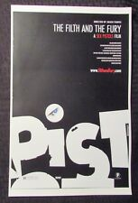 """THE FILTH AND THE FURY 11x17"""" Mini Movie Poster FVF 7.0 Sex Pistols"""
