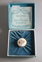 Bilston & Battersea Enamels Box floral by Halcyon Days