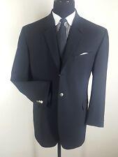 THIERRY MUGLER Black Wool Suit Vintage 3 Btn 1 Vent US Size 48R   Fit 44-46 Reg