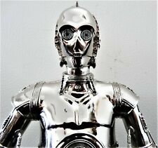 GENTLE GIANT STAR WARS C-3PO CHROME COLLECTIBLE BUST STATUE FIGURE SIDESHOW