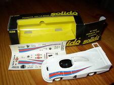 Solido 1086 Porsche 936 Le Mans 1977 winner Martini Ickx