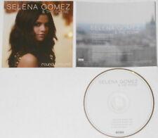 Selena Gomez  Round & Round  U.S. promo cd  hard-to-find