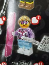 Lego 8833 Series 8 #7 DOWNHILL SKIER Girl Minifigure figure New Sealed Pack