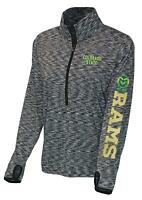 Colorado State Rams Long Sleeve Athletic Womens XL Running Shirt Jacket Dri-Fit