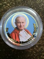 Rosary, Pope John Paul II and Pope Giovanni XXIII Rose Scented, new, from Rome!
