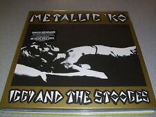 IGGY AND THE STOOGES Metallic 'KO - ltd METALLIC GOLD Vinyl LP incl. DLC /// New