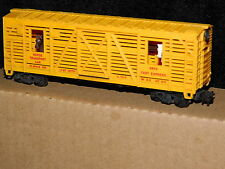 Lionel * Operating * Horse Transport Car #0873 made in Usa Ho Scale Train*mint