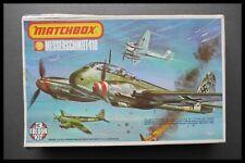Vintage RARE Matchbox Messerschmitt Me 410 1:72 Aircraft Model Kit