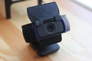 Privacy Cover for Logitech C920 C930e C922 Webcam BLACK