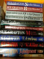 SUE GRAFTON~MIXED LOT OF 25~COMPLETE ALPHABET ~1ST ED~KINSEY MILLHONE~FREE SHIP