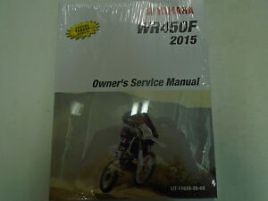 Yamaha Wr450 Motorcycle Repair Manuals Literature For Sale Ebay