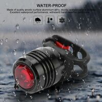Bicycle Bike LED Front Rechargeable Head Rear Light Torch Headlight Lamp 3 Modes