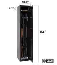 Biometric Gun Rifle Safe Electronic Lock Fingerprint Cabinet Firearm Storage New