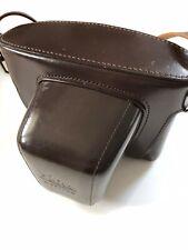 Leitz Wetzlar Leather Case For Leicaflex SL in Box Unused