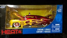 1951 Mercury Fire Chief 1:24 Scale (Red/Yellow Flames) by Jada