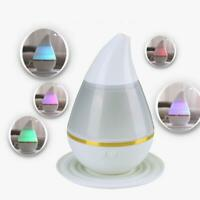 7 Colour LED Ultrasonic Aroma Humidifier Air Aromatherapy Essential Oil Diffuser